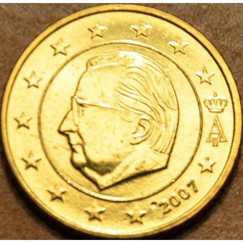 50 cent Belgicko 2007 (UNC)
