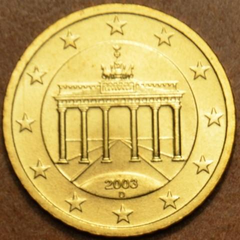 """50 cent Nemecko """"D"""" 2003 (UNC)"""