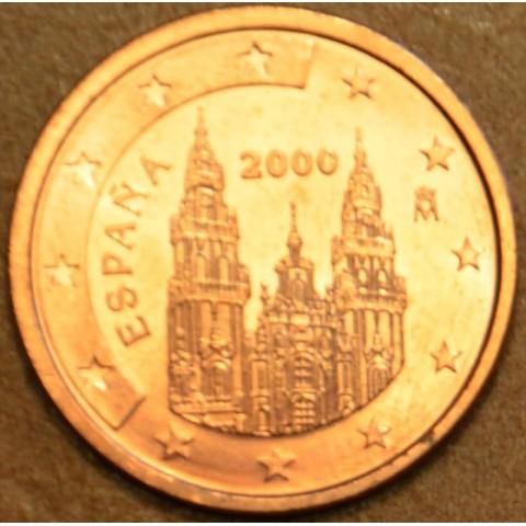 2 cent Španielsko 2000 (UNC)