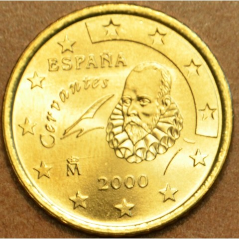 50 cent Španielsko 2000 (UNC)