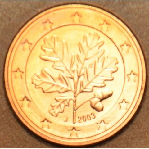 """1 cent Nemecko """"J"""" 2003 (UNC)"""