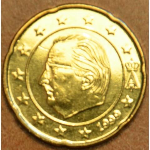 20 cent Belgicko 1999 (UNC)