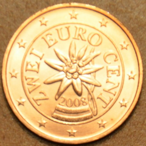2 cent Rakúsko 2008 (UNC)