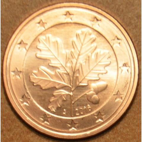 """1 cent Nemecko """"A"""" 2016 (UNC)"""