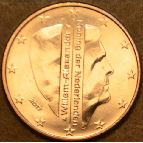 1 cent Holandsko 2017 - Kráľ Willem Alexander (UNC)