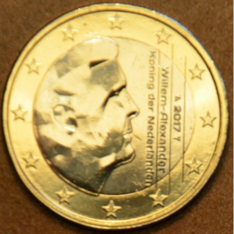 1 Euro Holandsko 2017 - Kráľ Willem Alexander (UNC)