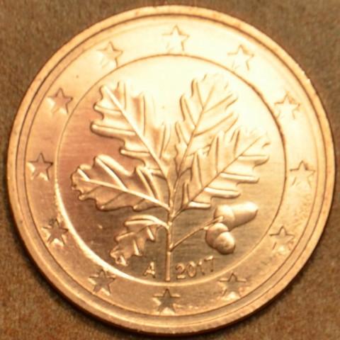 """1 cent Nemecko """"A"""" 2017 (UNC)"""