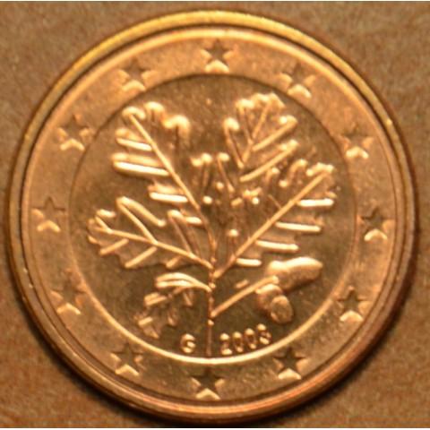"""1 cent Nemecko """"G"""" 2003 (UNC)"""