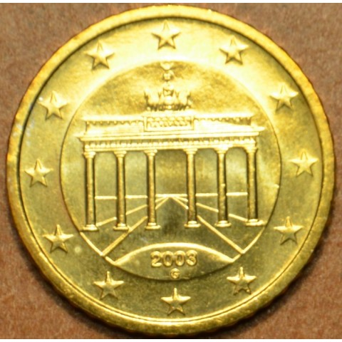 """50 cent Nemecko """"G"""" 2003 (UNC)"""