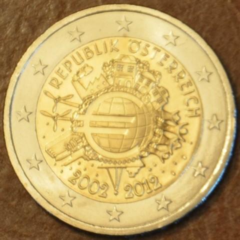 2 Euro Rakúsko 2012 - 10. výročia vzniku Eura (UNC)