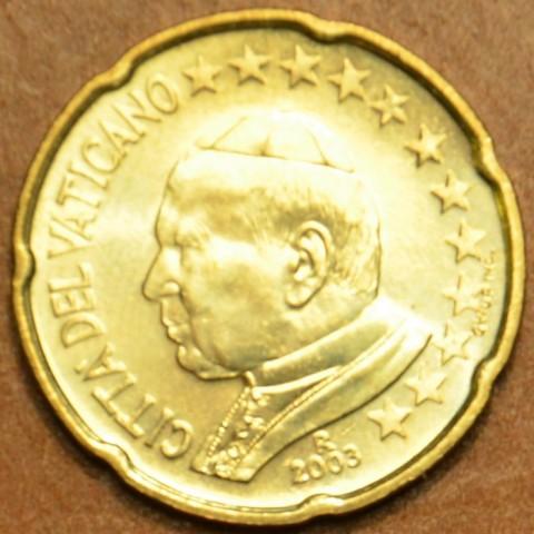 20 cent Vatikán Ján Pavol II 2003 (BU)