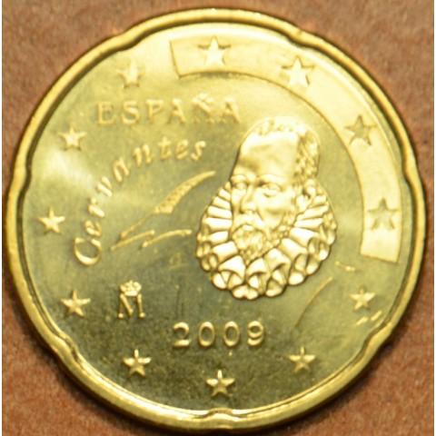 20 cent Španielsko 2009 (UNC)