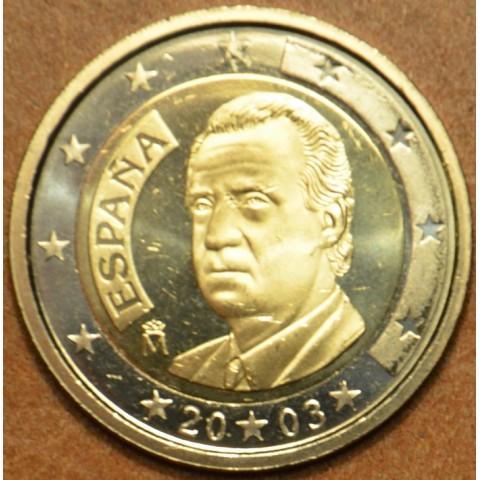 2 Euro Španielsko 2003 (UNC)