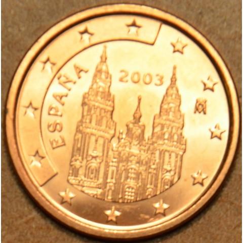 2 cent Španielsko 2003 (UNC)