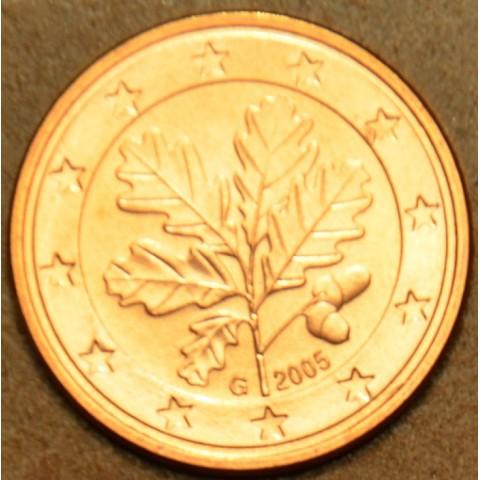 """1 cent Nemecko """"G"""" 2005 (UNC)"""