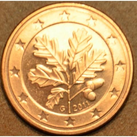 """1 cent Nemecko """"G"""" 2011 (UNC)"""