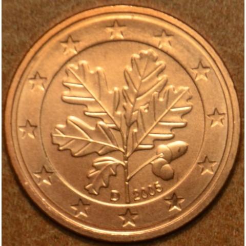 """1 cent Nemecko """"D"""" 2005 (UNC)"""