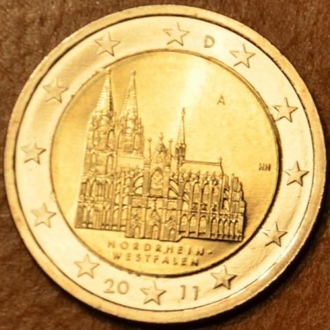 """2 Euro Nemecko """"A"""" 2011 - Severné Porýnie Vestfálsko: Dóm v Kolíne (UNC)"""