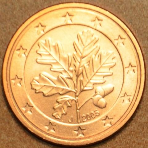 """1 cent Nemecko """"J"""" 2005 (UNC)"""