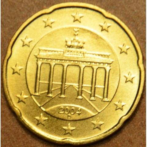 """20 cent Nemecko """"D"""" 2004 (UNC)"""