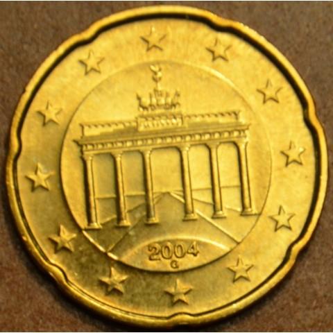 """20 cent Nemecko """"G"""" 2004 (UNC)"""