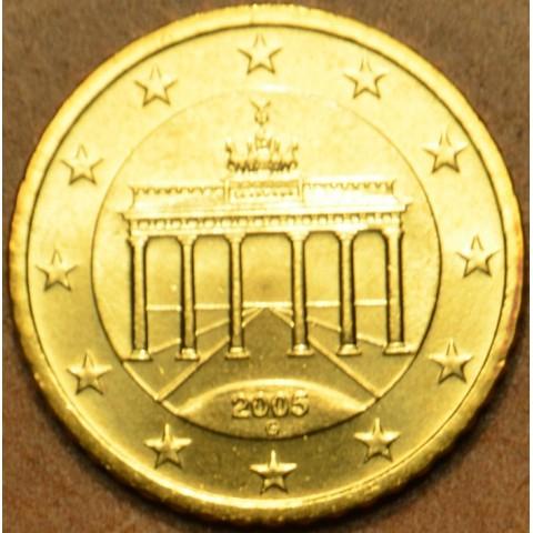 """50 cent Nemecko """"G"""" 2005 (UNC)"""