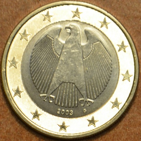 "1 Euro Nemecko ""G"" 2003 (UNC)"