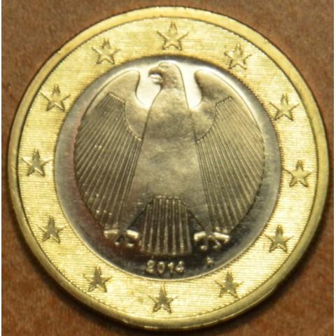 """1 Euro Nemecko """"A"""" 2014 (UNC)"""