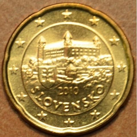 20 cent Slovensko 2010 (UNC)