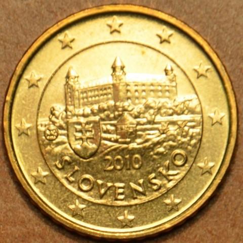 10 cent Slovensko 2010 (UNC)