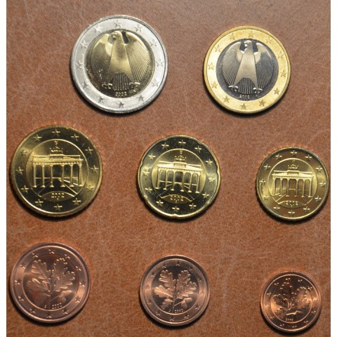 """Set of 8 coins Germany 2002 """"A"""" (UNC)"""