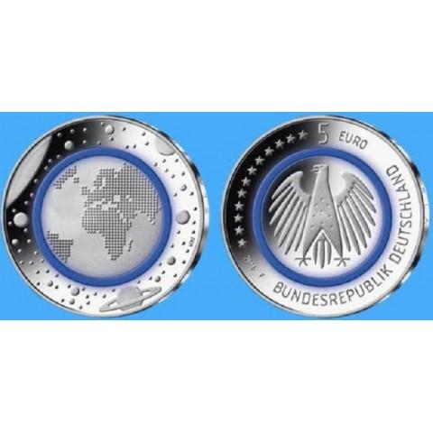 5 Euro Nemecko 2016 Planéta Zem (UNC)