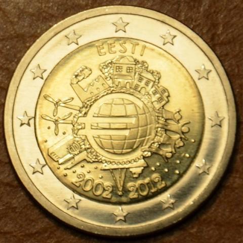 2 Euro Estónsko 2012 - 10. výročia vzniku Eura (UNC)