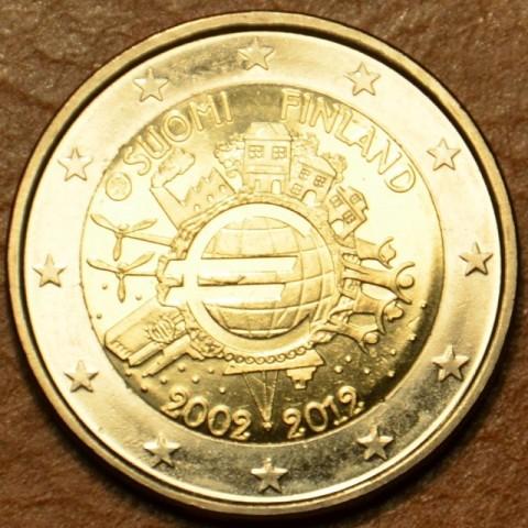 2 Euro Fínsko 2012 - 10. výročia vzniku Eura (UNC)