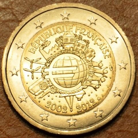 2 Euro Francúzsko 2012 - 10. výročia vzniku Eura (UNC)