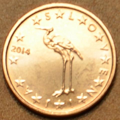 1 cent Slovinsko 2014 (UNC)