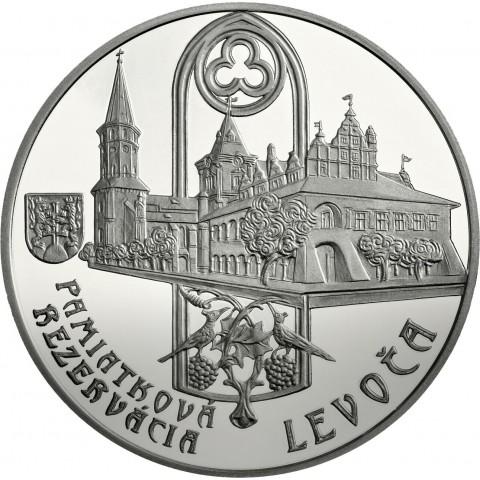 20 Euro Slovensko 2017 Pamiatková rezervácia Levoča  (BU)