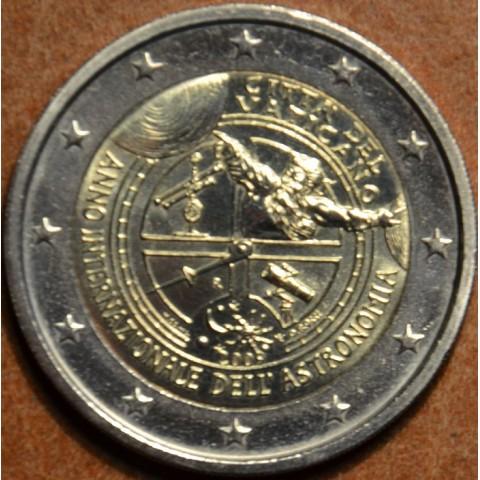 2 Euro Vatikán 2009 - Medzinárodný rok astronómie (UNC bez foldra)
