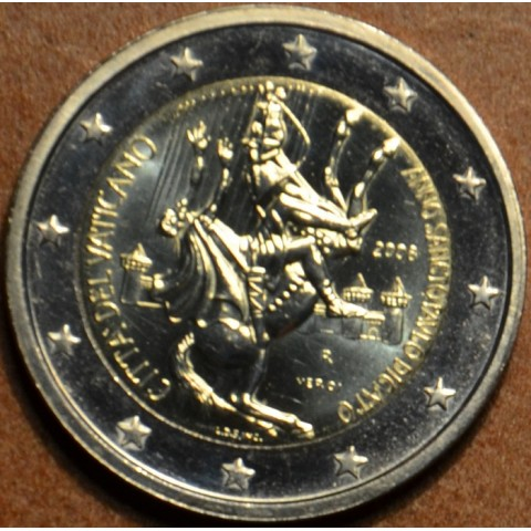 2 Euro Vatikán 2008 -Rok svätého Pavla (UNC bez foldra)