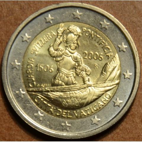 2 Euro Vatikan 2006 - 500. výročie Švajčiarskej gardy (bez foldra)