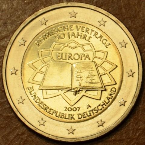 """2 Euro Nemecko """"A"""" 2007 - 50 rokov Rímskej zmluvy (UNC)"""