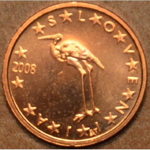 1 cent Slovinsko 2008 (UNC)