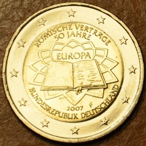 """2 Euro Nemecko """"F"""" 2007 - 50 rokov Rímskej zmluvy (UNC)"""