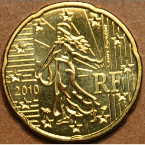 20 cent Francúzsko 2010 (UNC)