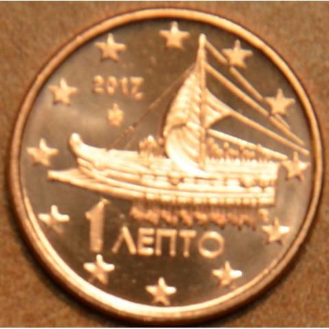 1 cent Grécko 2017 (UNC)