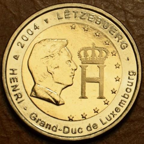2 Euro Luxemburgsko 2004 - Veľkovojvoda Henri (UNC)
