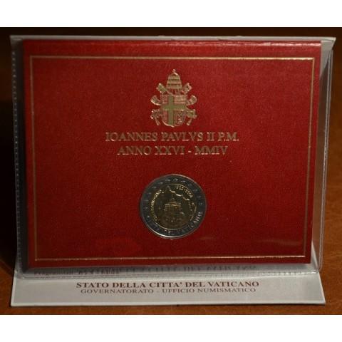 2 Euro Vatikan 2004 - 75. výročie založenia Vatikánskeho mestského štátu (BU)