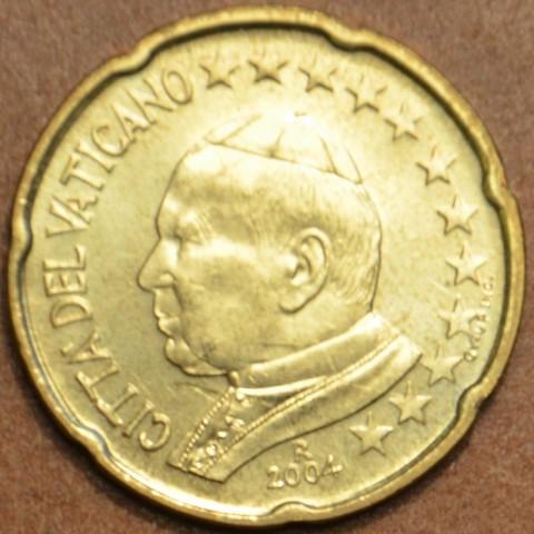 20 cent Vatikán Ján Pavol II 2004 (BU)