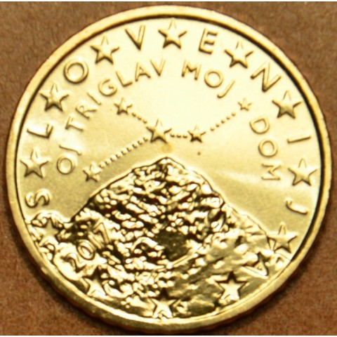 50 cent Slovinsko 2017 (UNC)