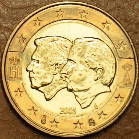 2 Euro Belgicko 2005 - Belgicko-Luxemburská hospodárska únia (UNC)
